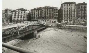 Hoy se cumplen 33 años de las inundaciones de Bilbao (vídeo)
