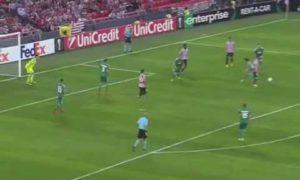 Vuelve a ver el espectacular gol de Beñat Etxebarria (vídeo)