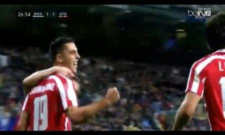 Así fue el gol de Sabin Merino que vale para empatar en el Bernabéu (vídeo)