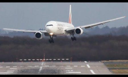 ¿ Son los pilotos alemanes más diestros que los de Bilbao para aterrizar con viento?