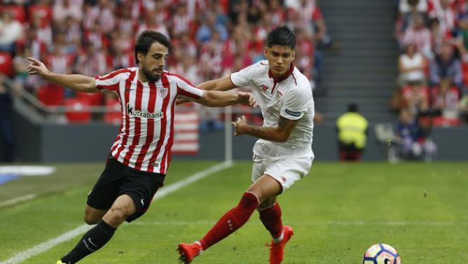 El futbolista Beñat Etxebarria estará disponible para el duro partido del Santiago Bernabéu / Agencias