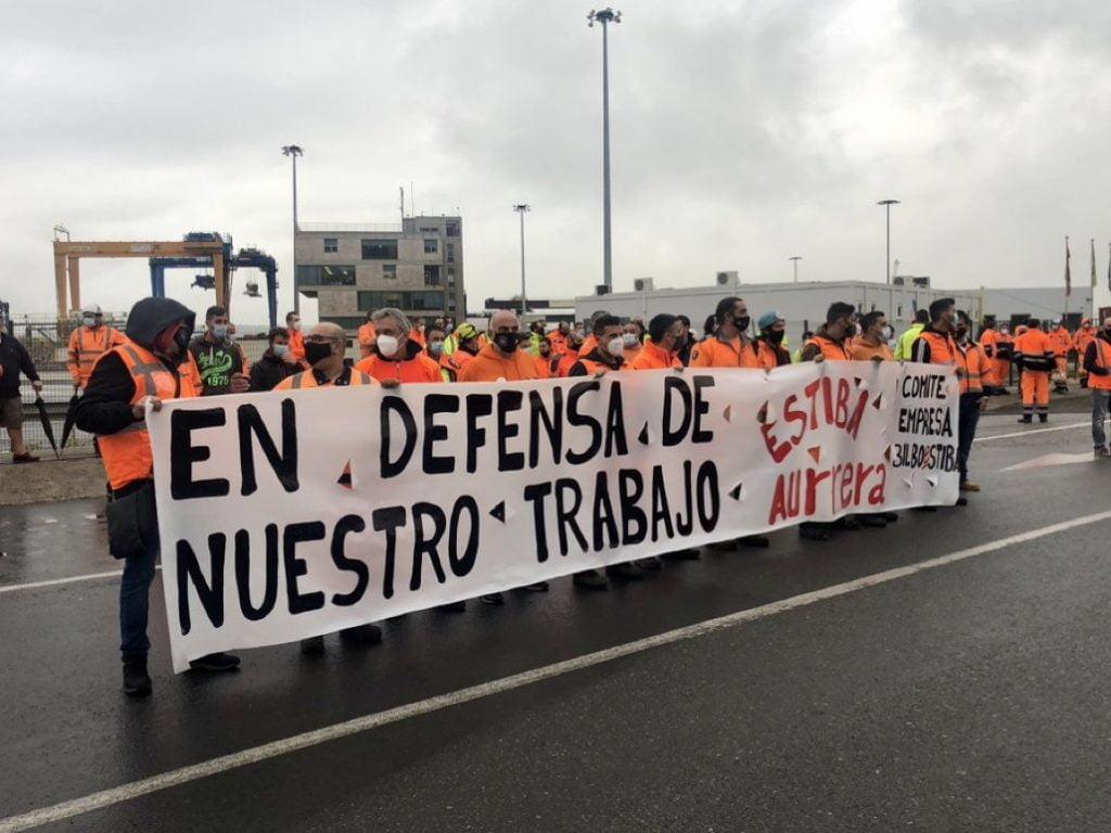 estibadores de Bilbao