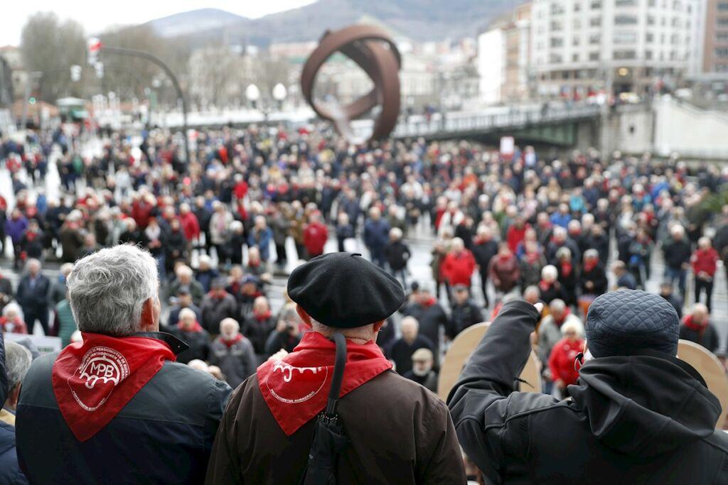 pensiones de Bizkaia
