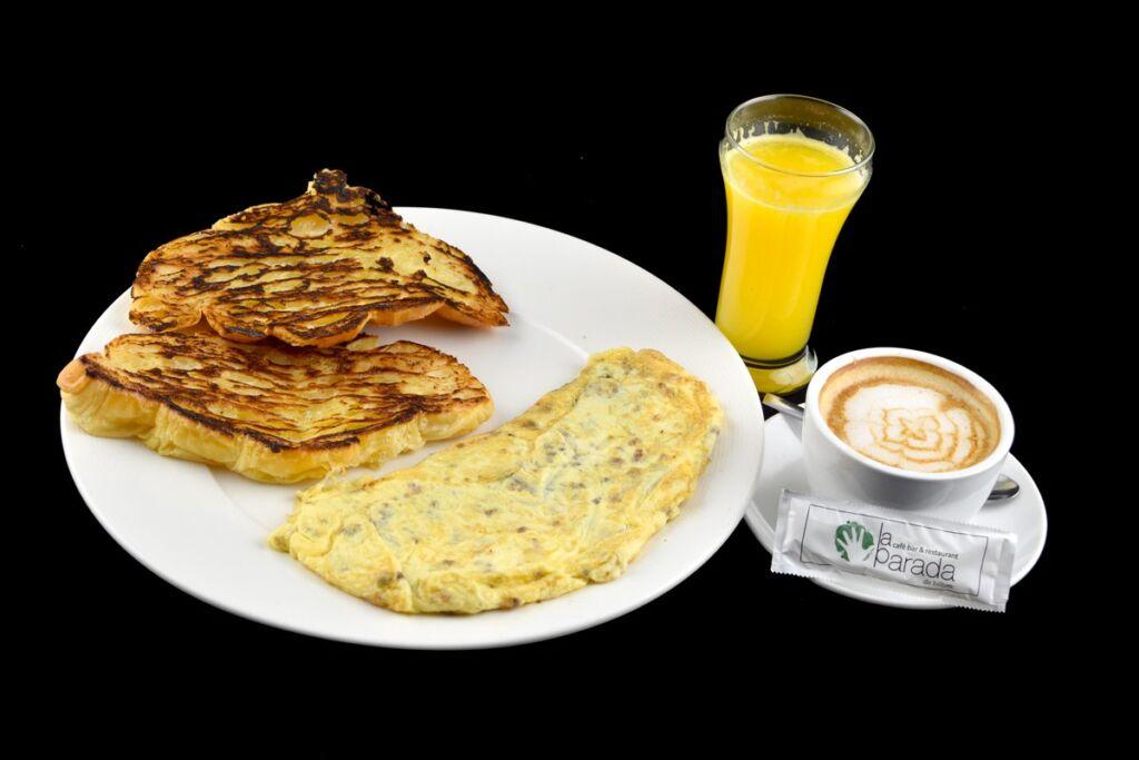 desayuno de Bilbao