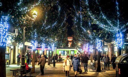 luces de Navidad de Gazteiz