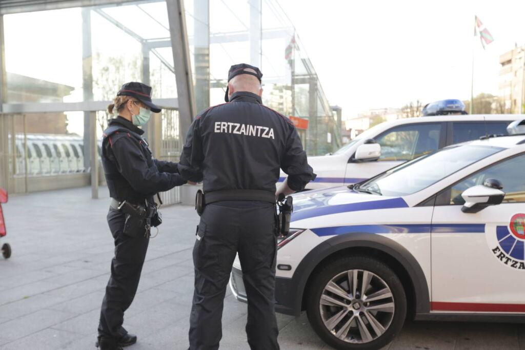 Ertzaina detenido