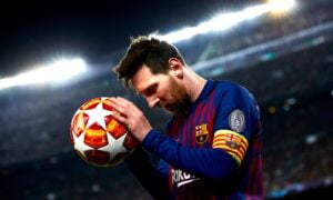 Lesión de Messi
