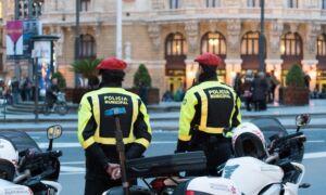 Policía Municipal en Bilbao